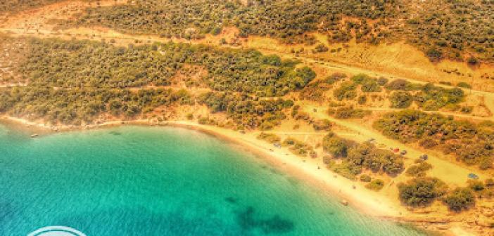 Η πανέμορφη παραλία του Αγίου Γεωργίου στον Αστακό(VIDEO)