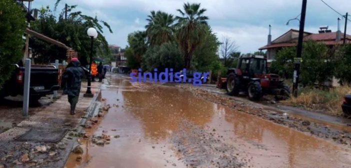 Οινιάδες: Πλημμύρες στο Λεσίνι (ΔΕΙΤΕ ΦΩΤΟ)