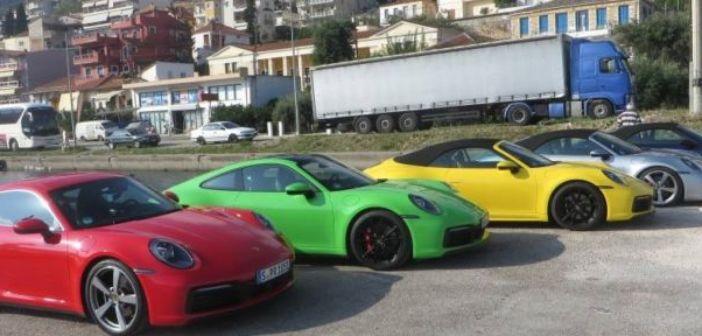 Ενθουσίασαν για ακόμη μία φορά οι Porsche στην Αμφιλοχία (ΦΩΤΟ)
