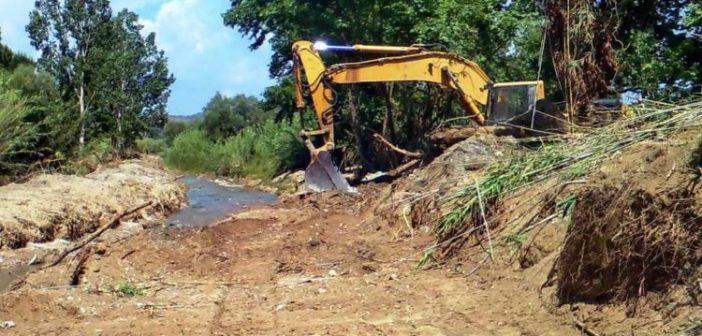 Αιτωλοακαρνανία: Σε εξέλιξη οι καθαρισμοί σε ρέματα και χειμάρρους – ΗΧΗΤΙΚΟ