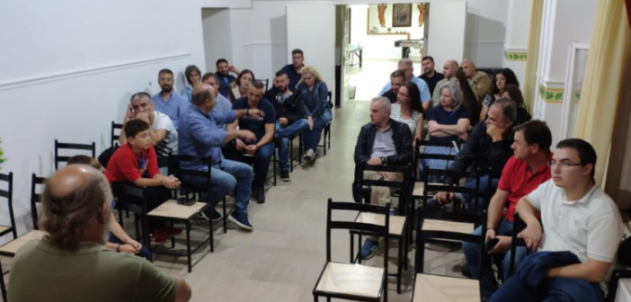 Ε.ΡΩ. Μεσολογγίου: «Κοινοτισμός: το ελληνικό πολιτικό σύστημα» με τον Γιάννη Μακρή (ΔΕΙΤΕ ΦΩΤΟ)