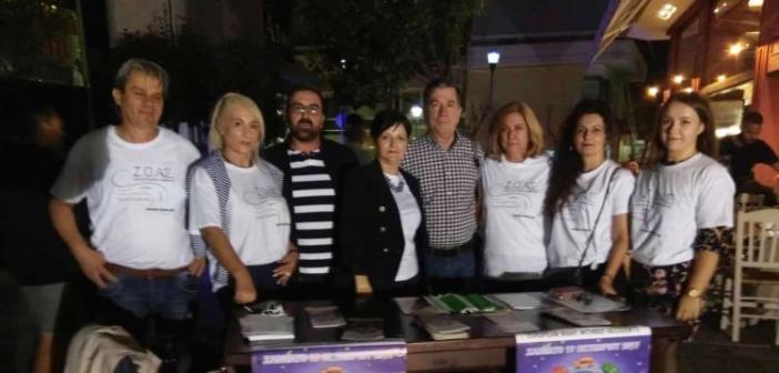 Παρουσία της Αντιπεριφερειάρχη, Μ. Σαλμά, στη «Νύχτα χωρίς Ατυχήματα» στο Αγρίνιο