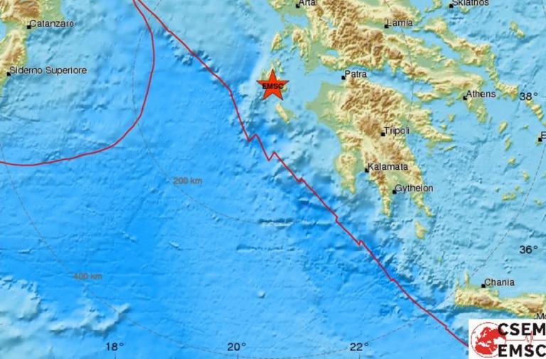 Σεισμός ταρακούνησε την Κεφαλονιά (ΔΕΙΤΕ ΧΑΡΤΕΣ)