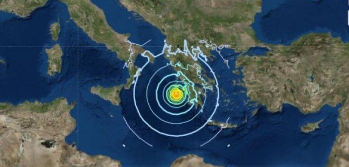 """Συνεχίζει να """"κουνάει"""" στη Ζάκυνθο – Κι άλλος σεισμός τα ξημερώματα"""