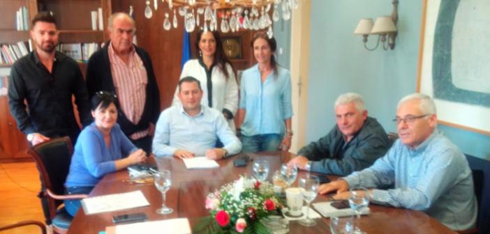 Υπεγράφη σύμβαση μίσθωσης του δημόσιου Ιχθυοτροφείου «Παλιοπόταμος» στον Αλιευτικό Συνεταιρισμό «Το Σκαλί»