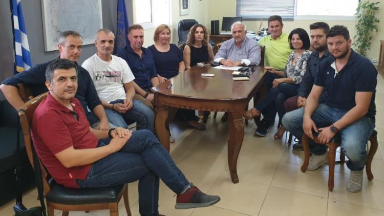 Συναντήσεις του Δημάρχου Κώστα Λύρου με αθλητικά σωματεία του Δήμου (ΔΕΙΤΕ ΦΩΤΟ)