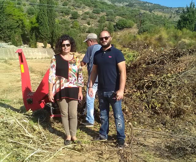 Αστακός: Με θρυμματιστή κλαδιών μετατρέπουν τα κλαδιά και τα χόρτα σε φυσικό λίπασμα! (ΦΩΤΟ + VIDEO)