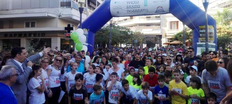 Αγρίνιο: Με μεγάλη επιτυχία και συμμετοχή η εκδήλωση «Τρέχω, Βαδίζω, Ποδηλατώ στην πόλη μου» (ΔΕΙΤΕ ΦΩΤΟ)