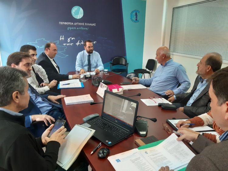 Η πρώτη συνεδρίαση του νέου Δ.Σ. του Περιφερειακού Ταμείου Ανάπτυξης Δυτικής Ελλάδας (ΦΩΤΟ)