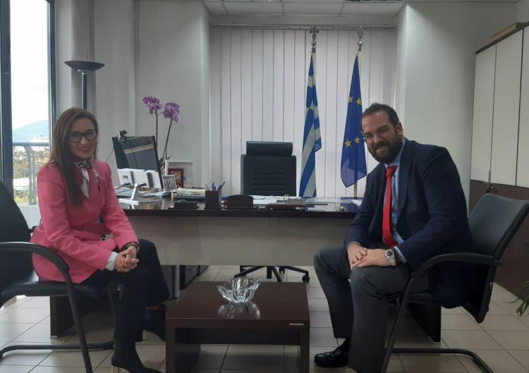 Στον Περιφερειάρχη Δυτικής Ελλάδας η Πρέσβης της Βοσνίας – Ερζεγοβίνης (ΦΩΤΟ)