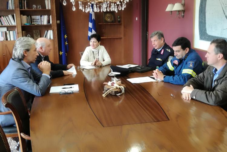 Σύσκεψη συντονισμού στην Π.Ε. Αιτωλοακαρνανίας για την αντιμετώπιση των φαινομένων κακοκαιρίας (ΦΩΤΟ)