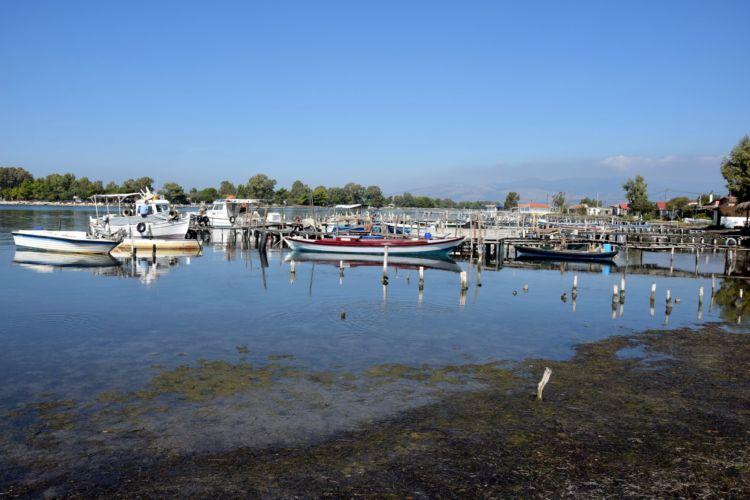 Όμορφες εικόνες από τη λιμνοθάλασσα του Μεσολογγίου