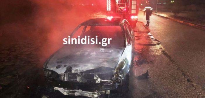 Μεσολόγγι: Κλεμμένο από το Αγρίνιο το αυτοκίνητο που κάηκε κοντά στο ΚΤΕΟ – Εμπλοκή της διαβόητης σπείρας; (ΔΕΙΤΕ ΦΩΤΟ)
