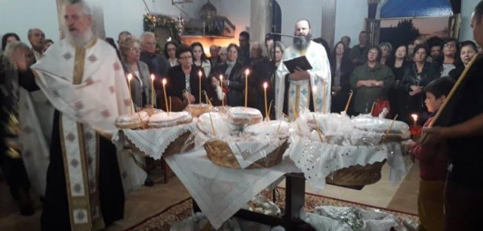 Η εορτή του Αγίου Νεκταρίου στον ομώνυμο Ιερό Ναό στο Δοκίμι Αγρινίου (ΦΩΤΟ)