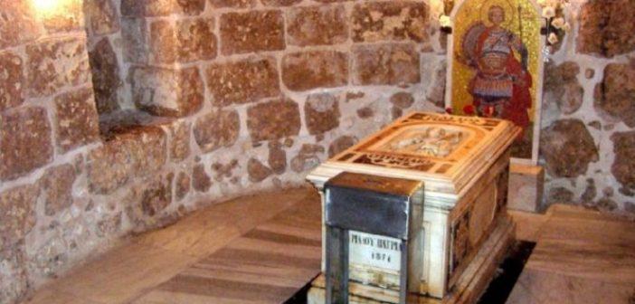 Ανακομιδή Λειψάνων Αγίου Γεωργίου Τροπαιοφόρου