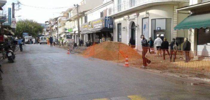 Λευκάδα: Ξεκίνησε η ανάπλαση της περιοχής του Αγίου Μηνά (ΔΕΙΤΕ ΦΩΤΟ)