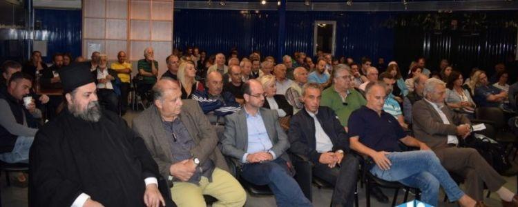 Αντίρριο: Γενική συνέλευση με κεντρικά θέματα μετανάστες και εργοταξιακούς χώρους (VIDEO + ΦΩΤΟ)
