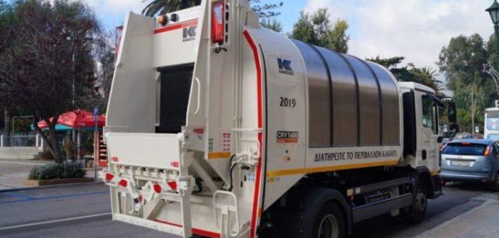 Χρήματα στους δήμους της Αιτωλοακαρνανίας για οχήματα μεταφοράς απορριμμάτων και ανακυκλώσιμων