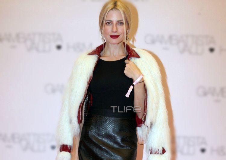 Ευαγγελία Αραβανή: Έκλεψε τις εντυπώσεις με την εμφάνισή της σε fashion event! (ΦΩΤΟ)