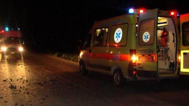 Τροχαίο ατύχημα στην Ιόνια Οδό – Ένας τραυματίας