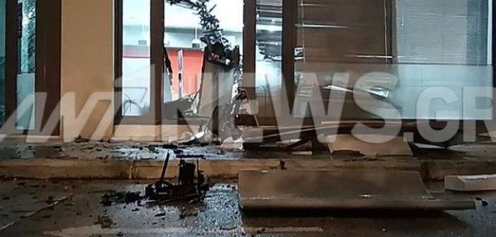 """Ανατίναξαν ΑΤΜ στην Αργυρούπολη με σύμμαχο τη """"Βικτώρια"""" (ΦΩΤΟ)"""
