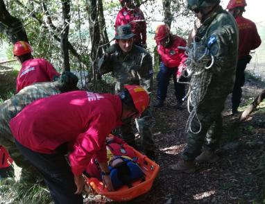 Η ΕΟΕΔ Μεσολογγίου σε συνεργασία με τον ΑΣΕΕΔ σε άσκηση έρευνας και διάσωσης