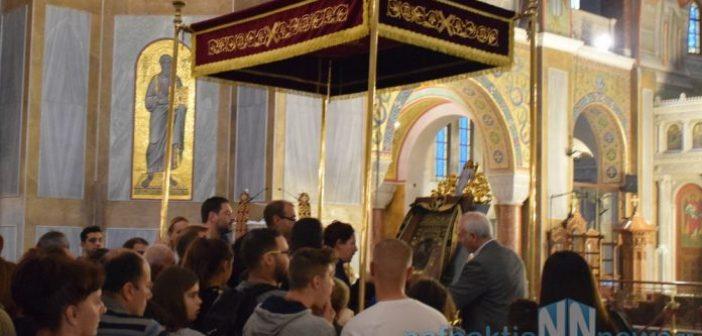 Πάτρα: Ουρές πιστών για να προσκυνήσουν την εικόνα της Παναγίας Σουμελά (VIDEO)