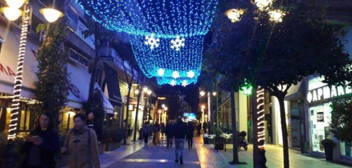 Την ερχόμενη Παρασκευή θα ανάψουν τα Χριστουγεννιάτικα λαμπιόνια στο Αγρίνιο