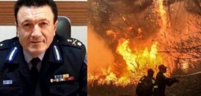 Το εορταστικό μήνυμα του Περιφερειακού διοικητή των Πυροσβεστικών δυνάμεων Αρχιπύραρχου Ευθ. Γεωργακόπουλου
