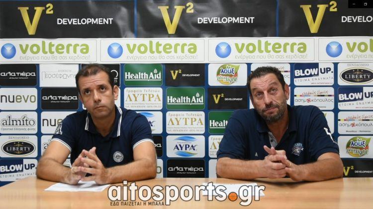 Οι δηλώσεις των προπονητών για το Χ. Τρικούπης – Ανατόλια (VIDEO)