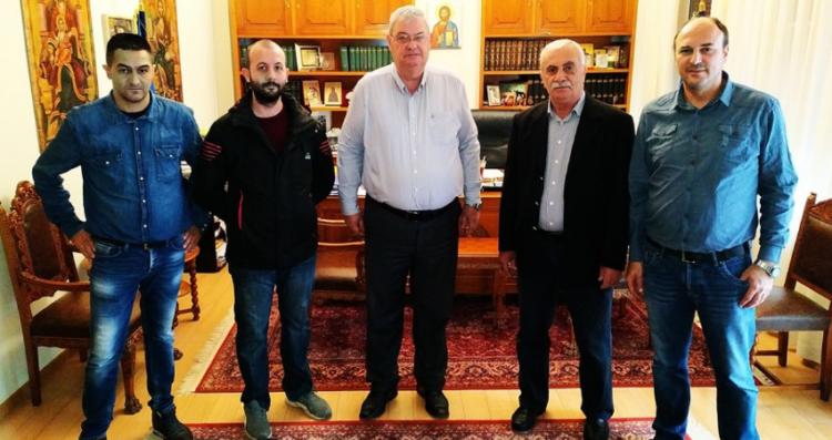 Συνάντηση της ΕΣΠΕΑΙΤ με τον Περιφερειάρχη Ηπείρου για τα προβλήματα των στρατιωτικών του Ακτίου