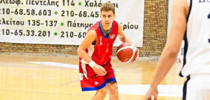 Α' ΕΣΚΑΒΔΕ – Χαρίλαος Τρικούπης U20: Ο 19χρονος Καζάνας έβαλε 51 πόντους!