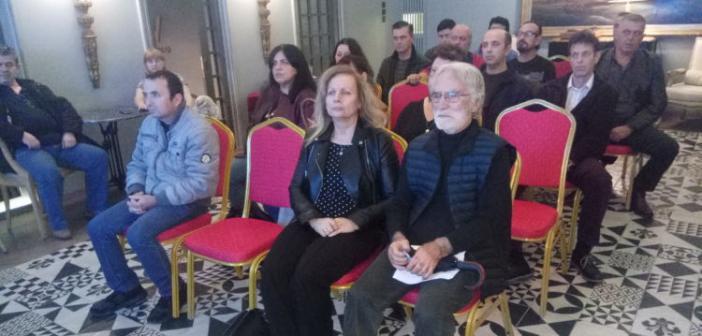 """Αγρίνιο: Παρουσιάστηκε το """"Κίνημα Αιτωλοακαρνάνων"""" (ΔΕΙΤΕ ΦΩΤΟ)"""
