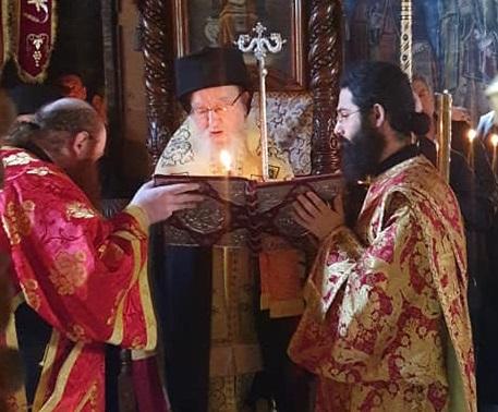 Άγιο Όρος: Το «ύστατο χαίρε» στον μακαριστό Σπυρίδωνα – Προεξάρχον ο Μητροπολίτης Αιτωλίας και Ακαρνανίας Κοσμάς (ΦΩΤΟ)