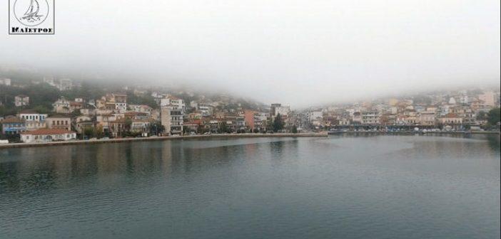 Η ομίχλη «έπνιξε» την Αμφιλοχία (VIDEO)