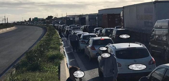 Αποκαταστάθηκε η κυκλοφορία στο τμήμα Ελευσίνα – Ισθμός στο ρεύμα προς Αθήνα