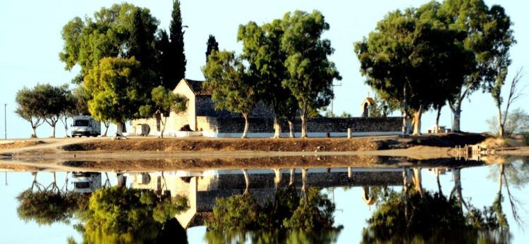 Το αγαπημένο μέρος του Λόρδου Βύρωνα στις Αλυκές του Μεσολογγίου (ΦΩΤΟ)