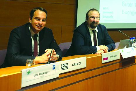 Ο Θανάσης Παπαθανάσης στηΓενική ΣυνέλευσητηςΕυρωπαϊκήςΈνωσηςΦαρμακοποιών(PGEU) στις Βρυξέλλες (ΦΩΤΟ)