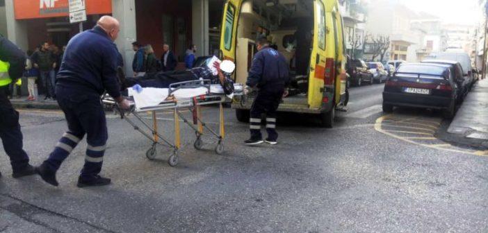 Αγρίνιο: Παράσυρση και τραυματισμός πεζού στην οδό Δαγκλή (ΔΕΙΤΕ ΦΩΤΟ)