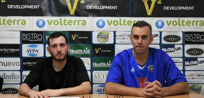 Οι δηλώσεις Ράπτη και Τζιβελέκα για το παιχνίδι Χαρίλαος Τρικούπης – Παγκράτι (VIDEO)