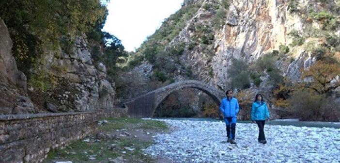 Ναυπακτία: Πεζοπορία από τo Καρέλι στo γεφύρι της Αρτοτιβας (VIDEO)