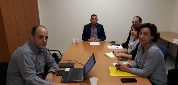 Δυτική Ελλάδα: Συνάντηση εργασίας του Αντιπεριφερειάρχη Αγροτικής Ανάπτυξης για το έργο TAGs και την εφαρμογή της Γεωργίας Ακριβείας