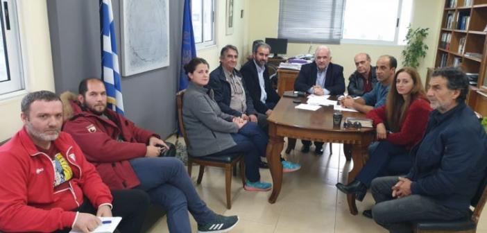 Συνάντηση του Δημάρχου Κώστα Λύρου με μέλη συλλόγων του Αιτωλικού για την Λιμνοθάλασσα (ΦΩΤΟ)