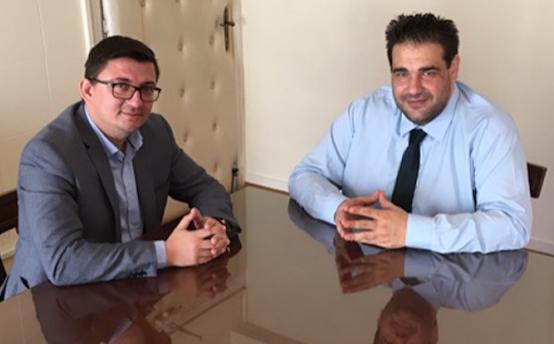 Συνάντηση του Δημάρχου Ξηρομέρου με τον υφυπουργό Εσωτερικών (ΔΕΙΤΕ ΦΩΤΟ)