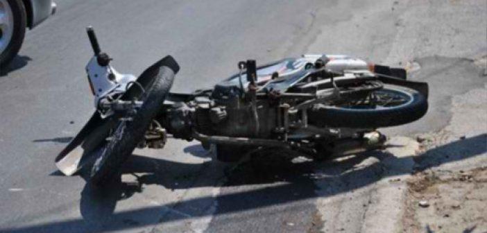 Μεσολόγγι: Σοβαρός τραυματισμός δικυκλιστή σε τροχαίο στην Τουρλίδα