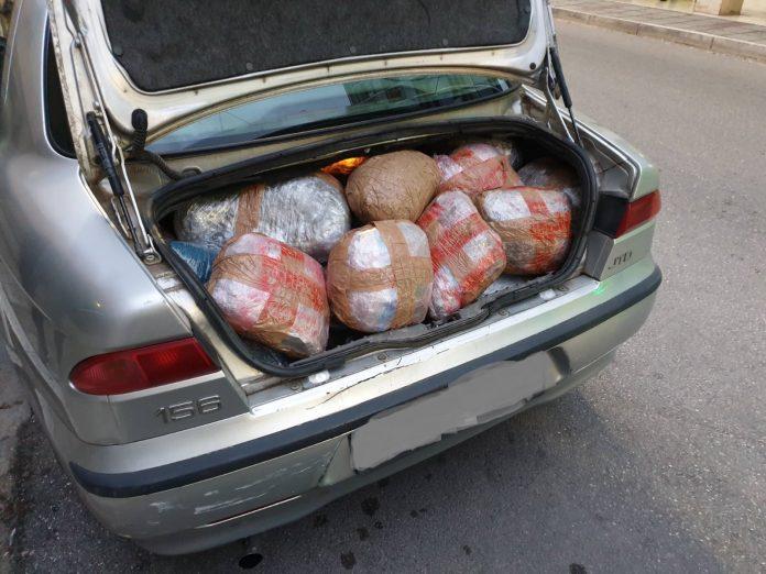 Καλπάκι Ιωαννίνων: Κατασχέθηκαν 106kg κάνναβης από το εσωτερικό Ι.Χ. (ΔΕΙΤΕ ΦΩΤΟ)