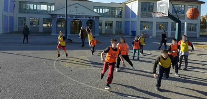 «Καλάθια ανθρωπιάς» από τους μαθητές του 10ου Δημοτικού Σχολείου Αγρινίου (ΔΕΙΤΕ ΦΩΤΟ)