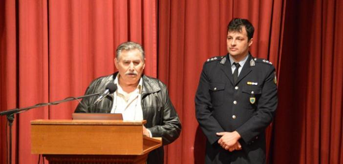 Πραγματοποιήθηκε στο Μεσολόγγι η ενημερωτική εκδήλωση για την προστασία των πολιτών από τις απάτες (ΦΩΤΟ)