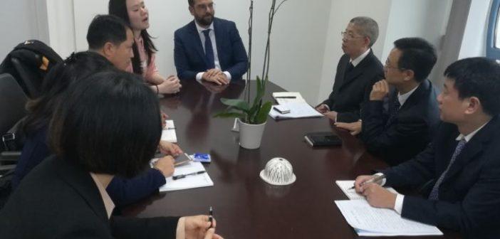 Συνάντηση Νεκτάριου Φαρμάκη με Κινεζική αντιπροσωπεία (ΦΩΤΟ)