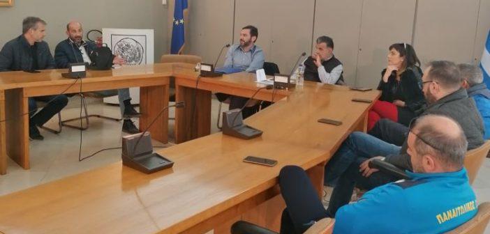 Συνάντηση εργασίας του Βοηθού Περιφερειάρχη σε θέματα Ολυμπισμού και Αθλητισμού με αθλητικούς φορείς και συλλόγους της Αιτωλοακαρνανίας (ΦΩΤΟ)